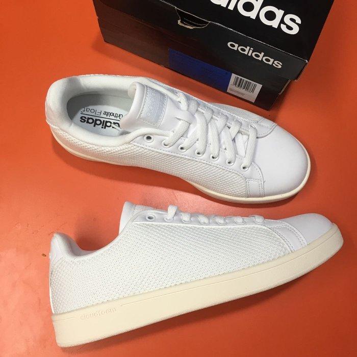 愛迪達 adidas 全白 休閒鞋 鞋 尺寸:UK7~UK10
