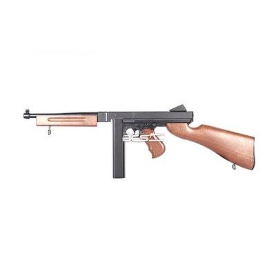 WELL D98 M1A1 仿木紋 衝鋒槍 電動槍 生存遊戲 玩具槍 BB槍