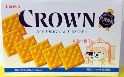 CROWN ACE 原味營養餅乾 25gX48包 嘉義市