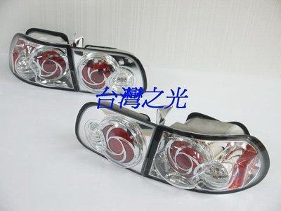 《※台灣之光※》全新HONDA本田CIVIC喜美K6 3門3D仿IS200超炫晶鑽尾燈絕版品特價出清