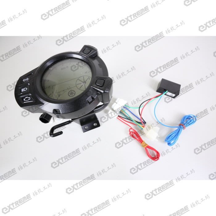 [極致工坊] BWS 噴射指針板 改 BWSX 液晶 儀表 直上線組 電路 波形轉換器 轉接線組