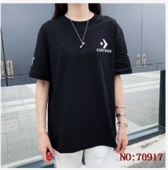《X-MAN》70917 CONVERSE匡威官方 19新款女士T恤 女士休閒T恤 女士短袖上衣 女士圓領T恤