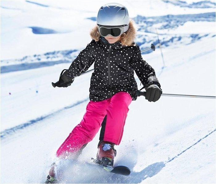 香港OUTLET代購 專業戶外兒童滑雪褲 防風 防寒保暖 滑雪運動褲 夾棉透氣 戶外衝鋒褲 背帶褲 雪地滑雪專用褲