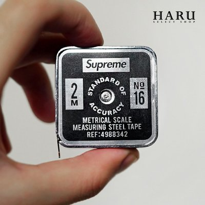 ☆HAru☆ SUPREME PENCO TAPE MEASURE 黑 金屬 捲尺 長至200公分