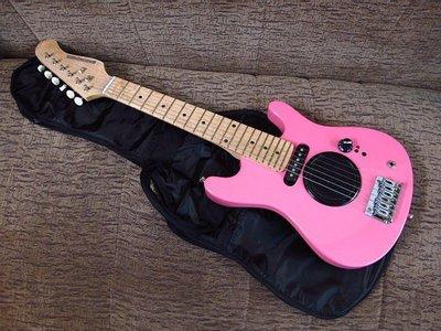 ☆唐尼樂器︵☆全新 30吋 電吉他/旅行吉他電吉他/兒童電吉他背袋
