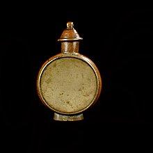 『保真』老玉市場-晚清民初銅製小巧鼻煙壺