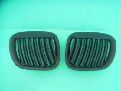 JY MOTOR 車身套件 - BMW Z3 高品質 寬版 鍍鉻 水箱罩 黑框 水箱罩 一組1300元