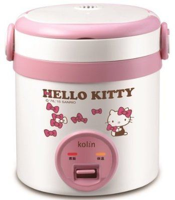 歌林 HelloKitty 隨行電子鍋 (1人) KNJ-MNR1230 價格皆含稅開發票 高雄國菲五甲店