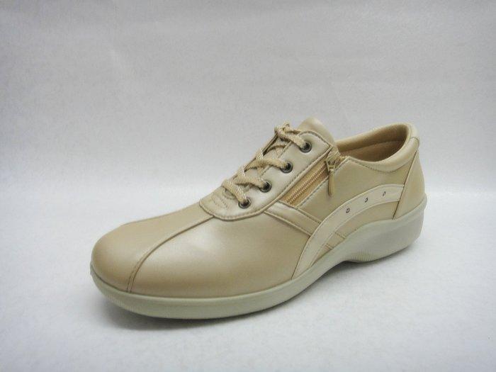 [WALKER 休閒運動] 日本原裝進口MOON STAR月星超輕氣墊休閒鞋4色 -米