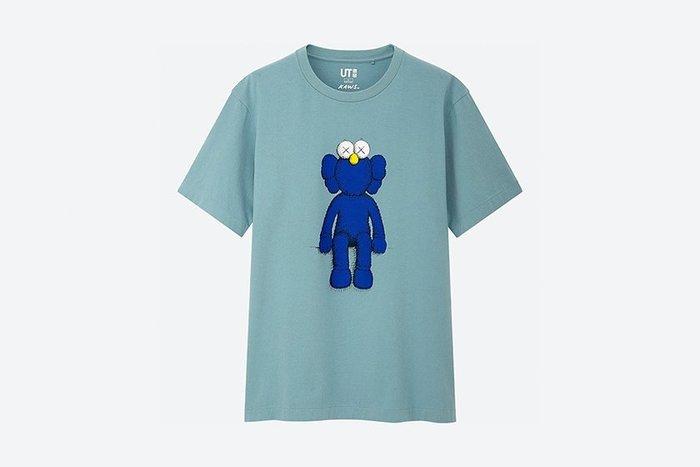 尺寸M/L 保證真品 Kaws 限量UT短T (x UNIQLO)經典聯名T-Shirt Suprme 優衣庫 潮T