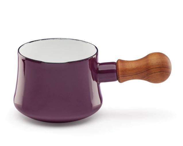 北歐丹麥 DANSK 562ml 木柄 梅紅色 2020 新色 限量  琺瑯鍋 手鍋 醬汁鍋 奶油鍋 湯鍋