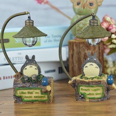 「拍賣最低價$180」宮崎駿吉卜力totoro龍貓LED小夜燈 桌上燈飾 燈飾擺設 床頭小夜燈 療癒燈飾 交換禮物 聖誕