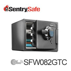 【皓翔居家安全館】Sentry Safe 按鍵式電子鎖防火防水金庫(小) SFW082GTC