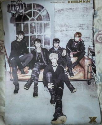 KNK REMAIN【台版宣傳海報】全新!免競標~