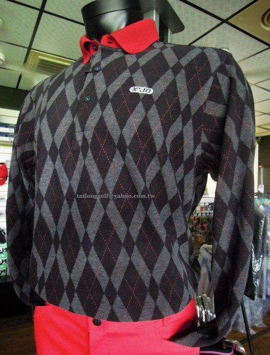 全新 日本專業高球品牌 XXIO 頂級高爾夫長袖針織衫  品味時尚 休閒風格#天絲纖維