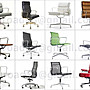 【台大復刻家具】Eames Soft Pad 厚高背 辦公椅 EA 219【Vitra版-非Herman Miller】