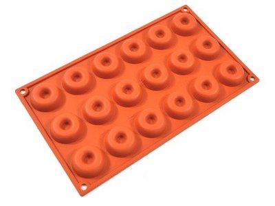 義大利進口《Silikomart》18連空心圓型矽膠模 30.010.00.0060 SF010