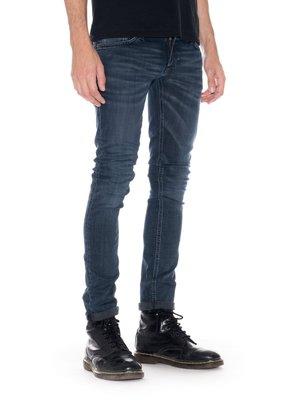 (預購商品) NUDIE LONG JOHN RUMBLING BLUE 深藍 合身 窄管 牛仔 丹寧 長褲 牛仔褲