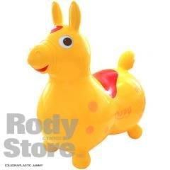 傑仲 (有發票) RODY 小馬 正版 公司貨 跳跳馬 日規 無塑化劑  黃色