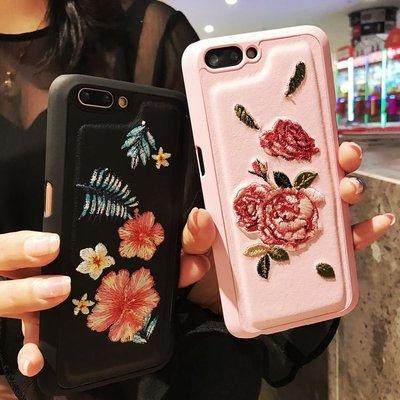韓國復古刺繡花朵vivox9手機殼步步...