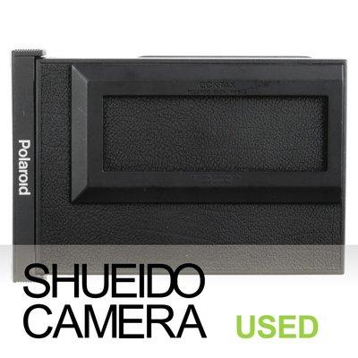 集英堂写真機【全國免運】中古現狀品 / CONTAX 645 MFB-2 POLARIOD 拍立得片盒 21123