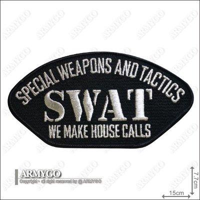 【ARMYGO】美警 SWAT 繡章
