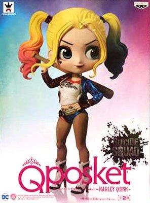 日本正版 景品 Q posket DC 小丑女 哈莉 奎茵 特別色 模型 公仔 日本代購
