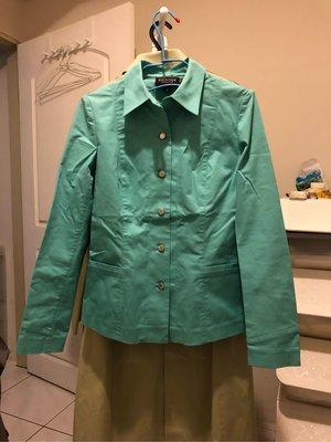 正品EPISODE 棉外套上衣(翡翠綠6/8)...特價出清