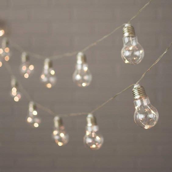 ~誠萍生活家具~居家佈置婚禮佈置必備 螢火蟲線燈 LED燈泡造型線燈~直購價$299