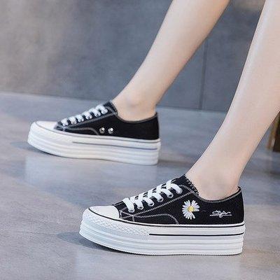 『Alice❤愛麗絲』鞋子女夏新款春季女鞋小白鞋春款厚底韓版百搭增高單鞋潮鞋