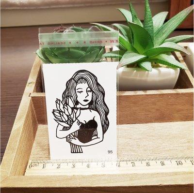 【萌古屋】百態人生95單圖 - 男女防水紋身貼紙刺青貼紙 K43