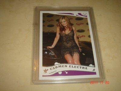 美國職籃 NBA Actress Carmen Electra 2005 Topps #252 球員卡 新人卡