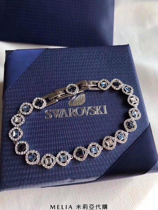 Melia 米莉亞代購 Swarovski 施華洛世奇 2018ss 專櫃正品出清特價 手鍊 手環 三種水晶一次完成
