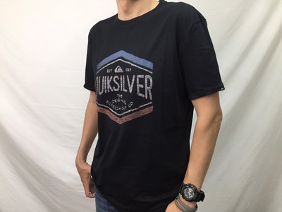 [阿菊潮流工作室]Quiksilver Black Sketchy Members T-Shirt M號 L號[免運費]