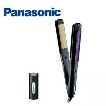 *大元˙台北* Panasonic  EH-HW18 直發卷發器2合1 黑色