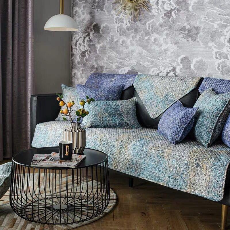 【RS Home】[70x70cm] 沙發墊沙發巾沙發罩床墊床前墊床旁電視櫃墊客廳地墊 [北歐奢華]