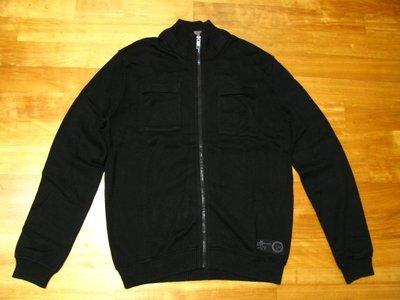 ESPRIT 黑色 拉鍊式 針織外套 [ IDEAL拉鍊 全新真品 ]S