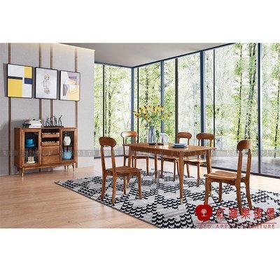 [紅蘋果傢俱]XS-T801白蠟木系列 餐桌/椅 餐台 長桌 餐邊櫃 酒櫃 書桌/椅 實木 北歐 現代簡約 輕奢風