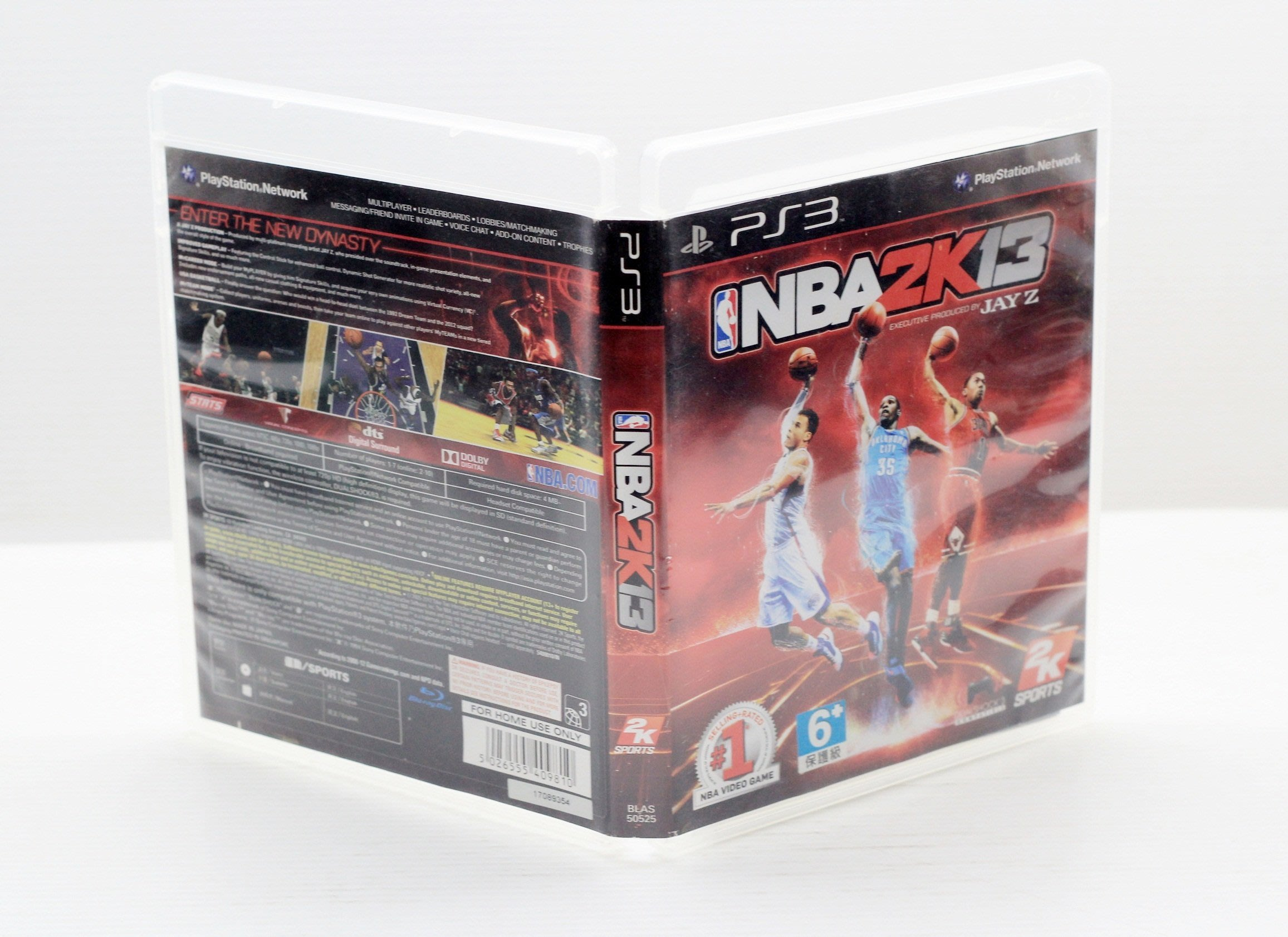 【橙市青蘋果】PS3 二手 遊戲片 NBA 2K13 # 00316