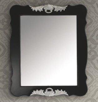 FUO 衛浴精品: 古典款式 豪華版化妝鏡(配古典浴櫃8123B) 現貨2組特價出售!