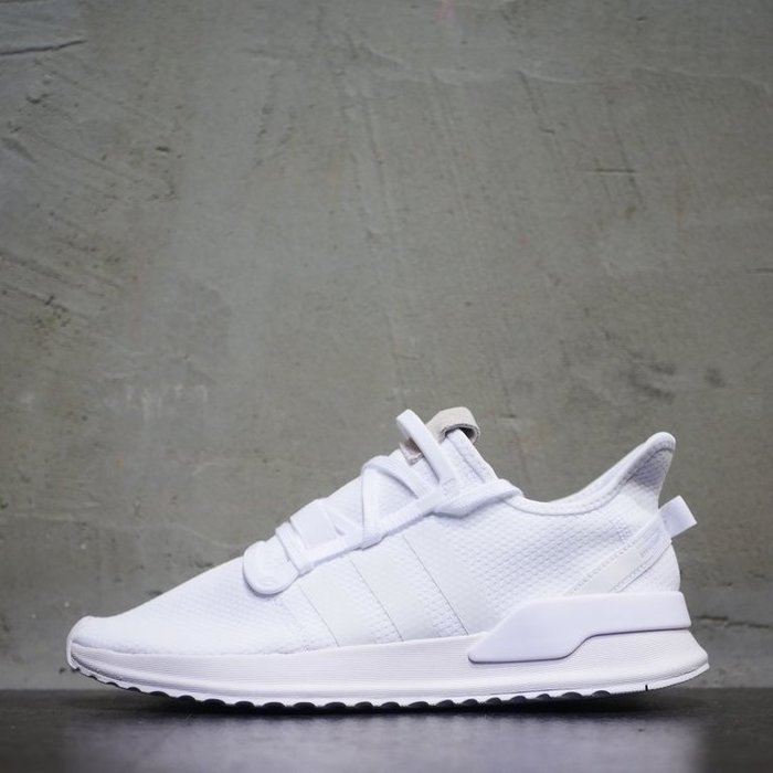 Washoes adidas Originals U_PATH RUN 全白 G27637 白色 慢跑鞋 男鞋04