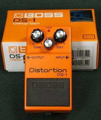 調音室嚴選 BOSS DS-1 全新 Distortion 破音/ 過載效果器 Roland 保證公司貨 單顆效果器 台北市