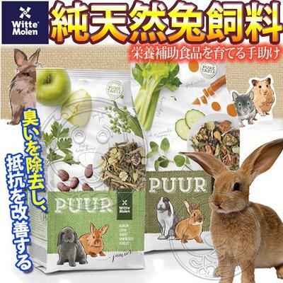 【🐱🐶培菓寵物48H出貨🐰🐹】荷蘭偉特PUUR》純天然兔飼料(成/幼兔)-600g 特價149元(自取不打折)