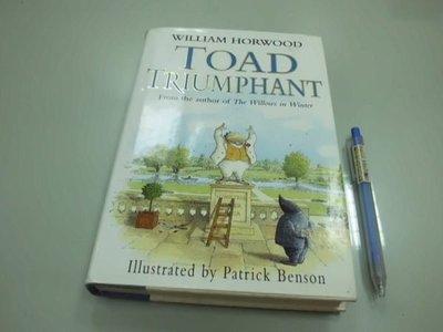 6980銤:B7-3ab☆1995年出版『TOAD TRIUMPHANT』Patrick Benson《WILLIAM HORWOOD》 ~精裝~