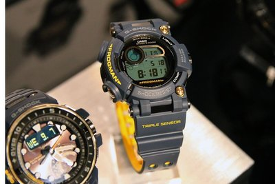 【EASYwatches】CASIO 卡西歐 G-SHOCK GWF-D1000NV-2 FROGMAN 蛙王 海軍藍