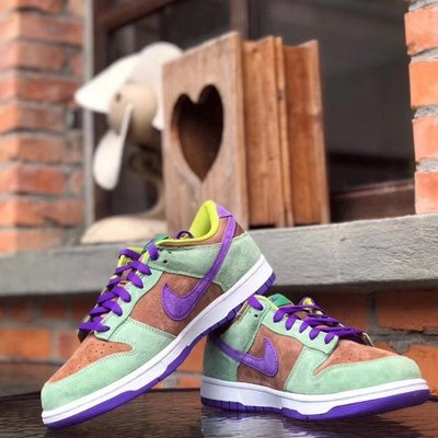正品 現貨 Nike Dunk Low SP Veneer 棕綠 男女款 DA1469-200