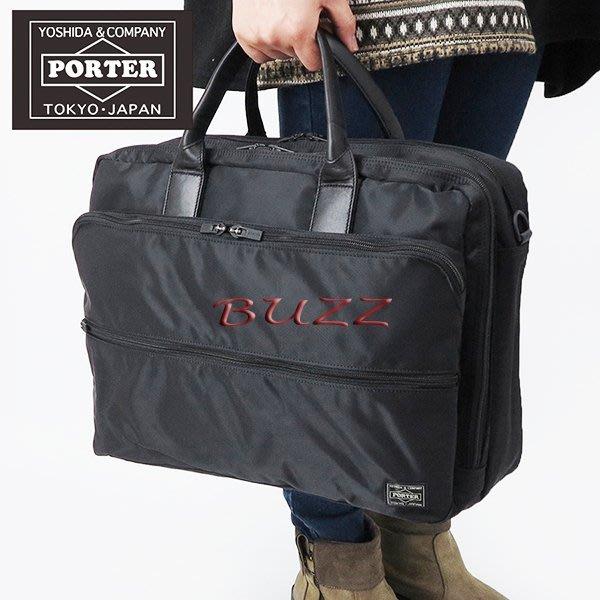 巴斯 日標PORTER屋-三色預購 PORTER TIME 2WAY(L)手提-斜背公事包655-06167