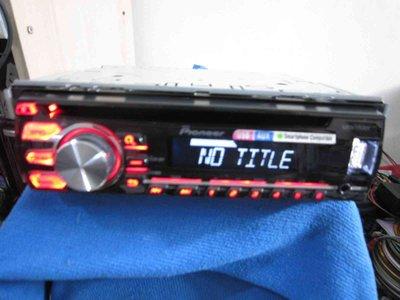 "典藏專區""PIONEER先鋒DEH-X1750UB""mp3/USB/CD主機50W*4//aux in/日本品牌泰國製"