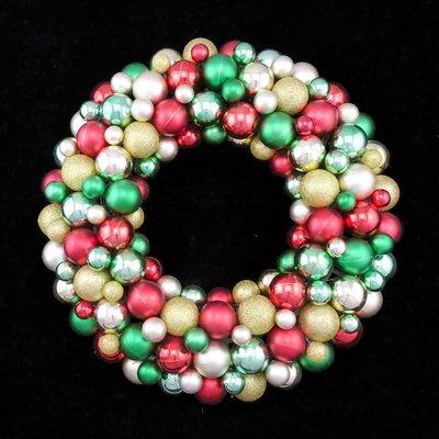 16吋聖誕節聖誕圈佈置耶誕裝飾禮物掛飾 球圈