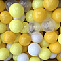 台灣製~ 溫暖黃色系遊戲彩球~ 漂亮蛋黃色系海...